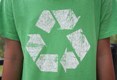 Recycle Symbol T-Shirt — Stock Photo