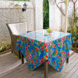 House patio with table and chair - Stock Photo