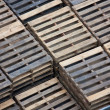 Wooden pallets — Stockfoto #6644597