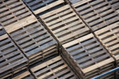 Wooden pallets — Stockfoto