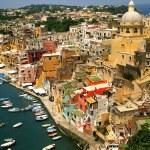 Corricella - Procida, Napoli, Italia — Stock Photo #6510787