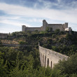 Albornoz fortress. Spoleto. Umbria. Italy — Stock Photo