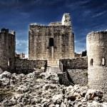 A Castle in the sky - Rocca Calascio - Aquila, Italy — Stock Photo