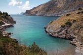 Wonderful Bay di Ieranto, between Naples, Italy — Stock Photo