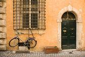 Italian parking — Stock Photo