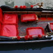 Traditional Venice gondola, details — Stock Photo