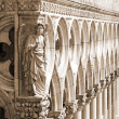 Palace Ducal - detail, Venice - Italy — Stock Photo