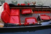 Traditional Venice gondola, details — Stock Photo