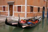Traditional Venice gondola -Italy — Stock Photo
