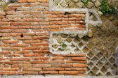 Roman wall — Stock Photo
