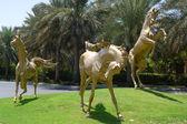 Golden Horses — Stock Photo