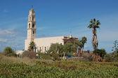 Kościół w jaffo — Zdjęcie stockowe