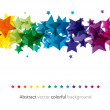 Abstract star shiny background — Stock Vector #6610063