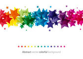 Abstract star shiny background — Stok Vektör