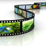 película con imágenes — Foto de Stock
