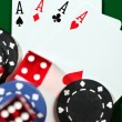 Stock Photo: Four aces