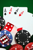 Four aces — Stockfoto