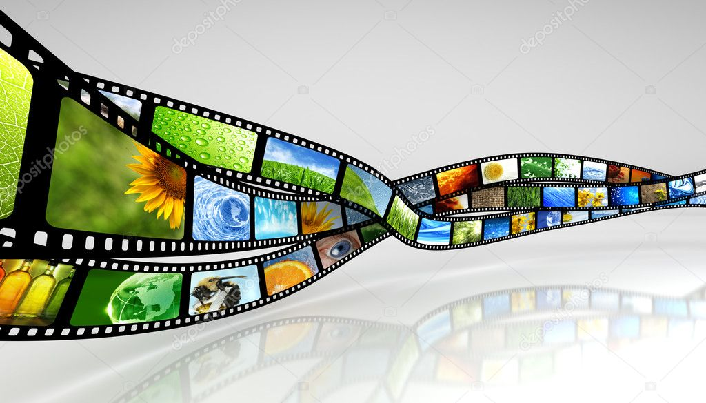 Film with images  Stock Photo #6618473