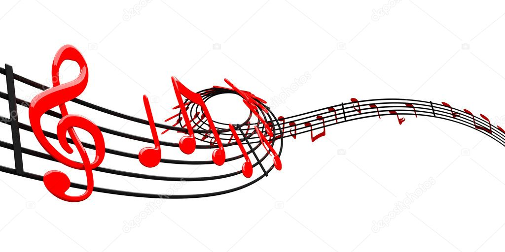 Music design — Foto Stock #6619731
