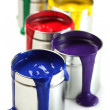 Cans of paint - Foto de Stock