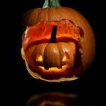 Jack-o'-lantern — Stock Photo