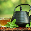 Teand teapot — Stock Photo #6621249