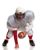 American football player. — Stock Photo
