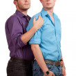 Gay Couple — Stock Photo