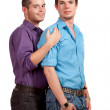 Stock Photo: Gay Couple