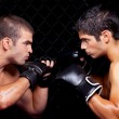 Mixed martial artists before a fight — Stock Photo #6533229