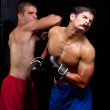 Mixed martial artists fighting — Stock Photo #6533258