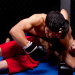 Mixed martial artists fighting — Stock Photo #6533280