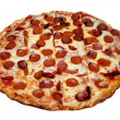 Pepperoni Pizza — Stock Photo #6537841