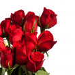 Stock Photo: Dozen Red Roses