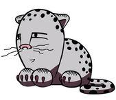 Vector of cartoon cat. — Stock Vector