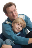Father and son. — Stock Photo