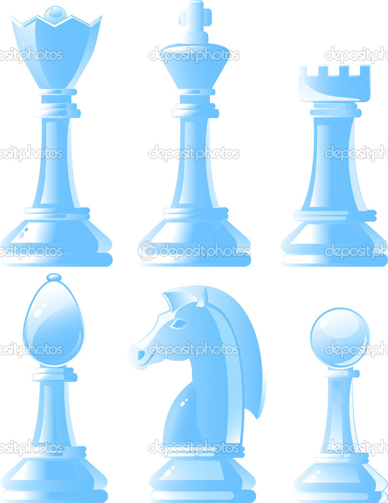White chess — Stock Vector #6539777