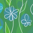 Cute spring background — Stockvektor