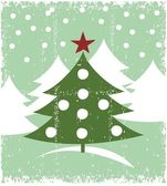 Carta di Natale — Vettoriale Stock