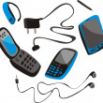 Mobile phone set — Stock Vector #6658240