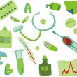 Healthcare icons set — Stock Vector