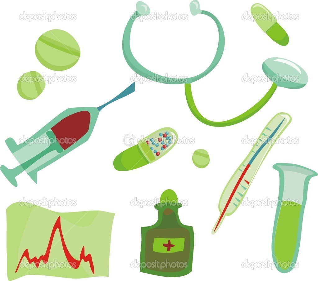Medical icon set — Stock Vector #6658243