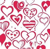 Amour backdround — Vecteur