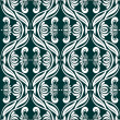 Stock Photo: Damask seamless pattern