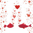 Fish in love — Stock Photo