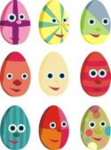 Easter elements — Stock Photo