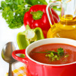 Tomato soup. — Stock Photo