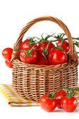 Basket of tomatoes. — Stock Photo