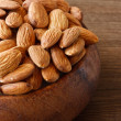 Stock Photo: Almonds.