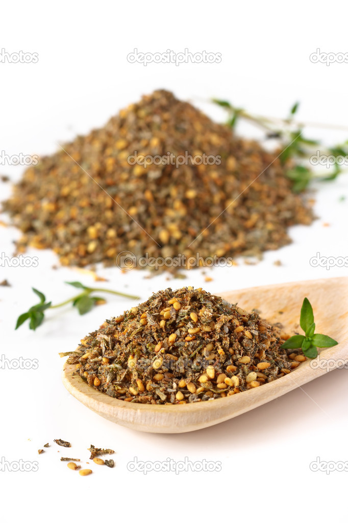  Mix of herbs, sesame seeds and salt.  Stock Photo #6610007